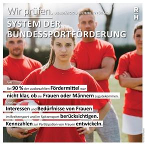 Infobox Bundessportförderung - Copyright: Rechnungshof Österreich, iStock.com/FilippoBacci