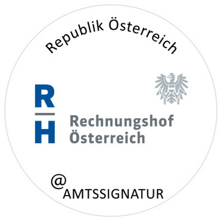 Bildmarke Rechnungshof - Copyright: