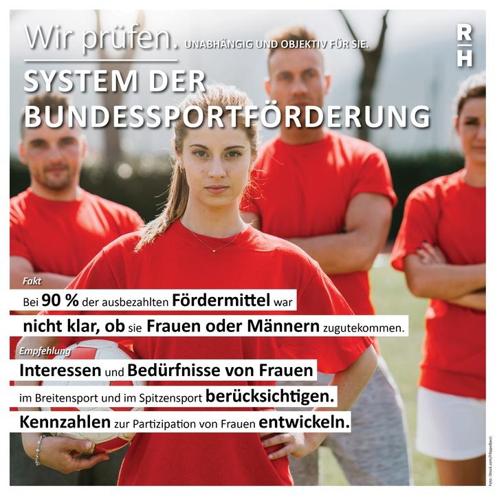 Infobox zur Bundessportförderung - Copyright: Foto: Rechnungshof Österreich, iStock.com/FilippoBacci