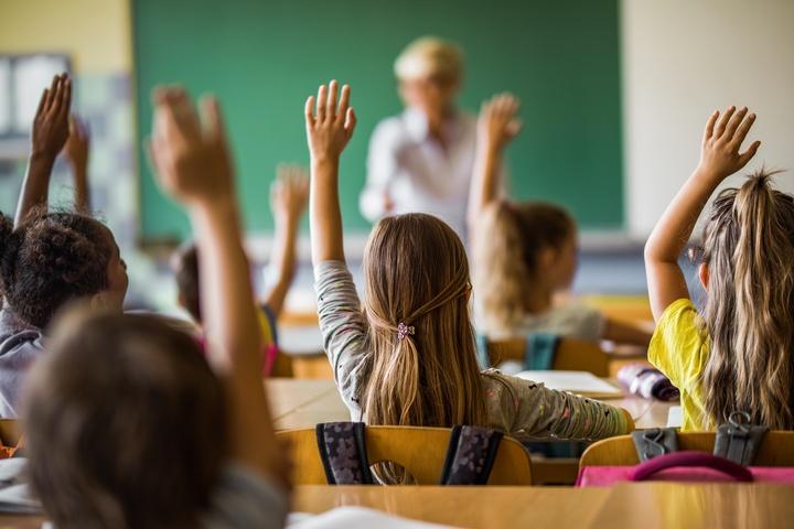 Schulklasse  - Copyright: iStock.com/Skynesher